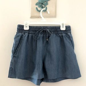Michael Kors Chambray Denim Shorts